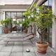 baldosa de exterior / para suelo / de gres porcelánico / de color liso