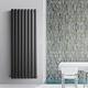 radiador de agua caliente / de metal / moderno / rectangular