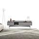 mueble de televisión moderno / de madera / de metal