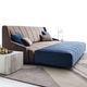 sofá moderno / de tejido / de cuero / para edificio público