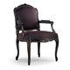 sillón de estilo Luis XV / de tejido / de haya