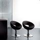 silla de visita moderna / tapizada / con base central / de tejido