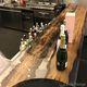 mostrador de bar / para cocina / de madera / recto