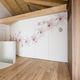 tabique corredero apilable / de madera / para uso residencial / decorativo