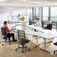 mesa de conferencia / moderna / de HPL / rectangular
