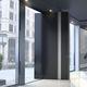 puerta de entrada / pivotante / de aluminio / de fibra de carbono