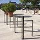 soporte para bicicletas para suelo / de acero termolacado / para espacio público