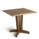 mesa moderna / de madera / cuadrada / para edificio público