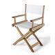 silla moderna / de tela / de fresno / de teca
