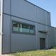 revestimiento de fachada de metal / acanalado / de panel