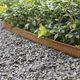 borde de jardín / de acero COR-TEN® / de acero galvanizado / lineal