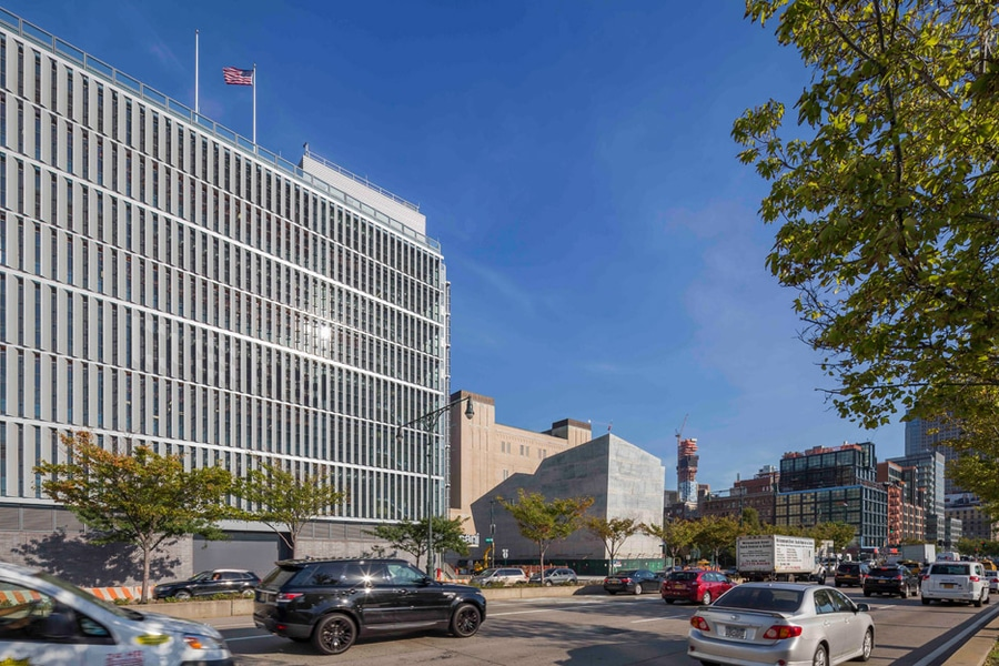 dattner y wxy crean edificios distintivos en nueva york para los carros de descarga y la