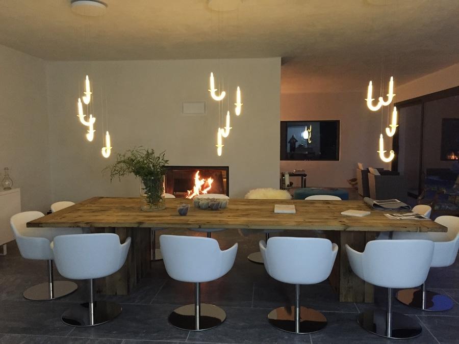 Las lámparas de la mesa de comedor - 6 Rue du Parc Royal, 75003 ...