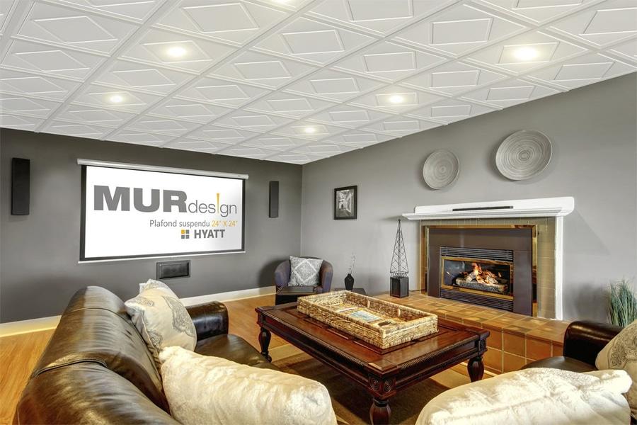 novedad falso techo decorativo by mur design
