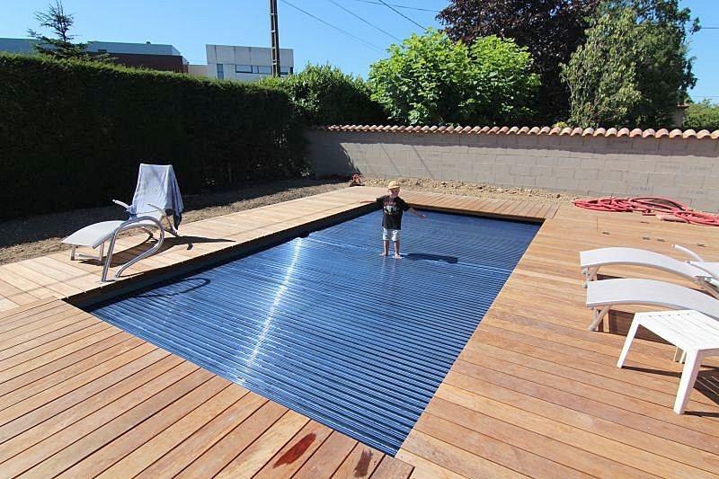 piscina luxe wanaka de la fibra de vidrio de las piscinas con la cubierta