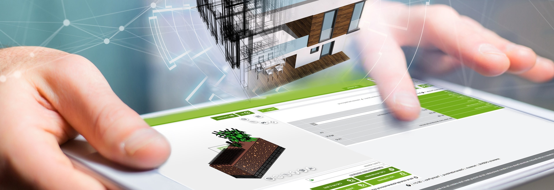 Bien preparado para las necesidades futuras del planeamiento verde del tejado