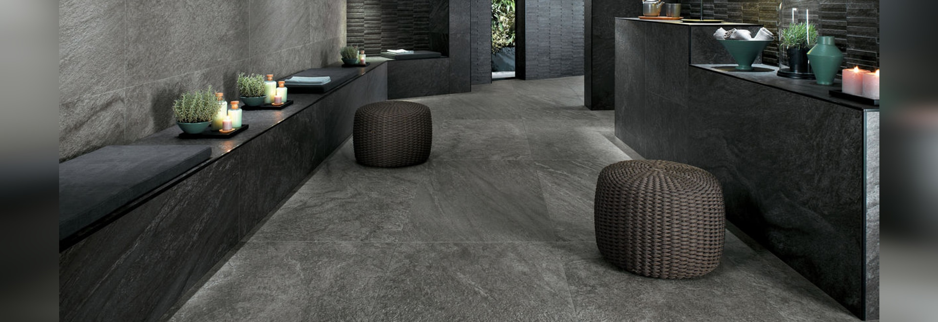 BRAVE: Pavimentos y revestimientos efecto piedra