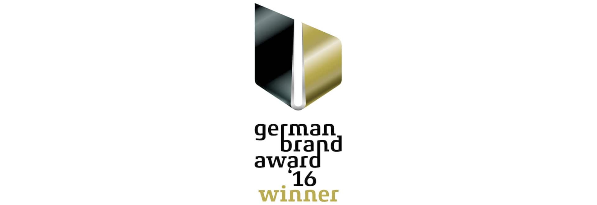 BRUNE gana el premio alemán 2016 de la marca