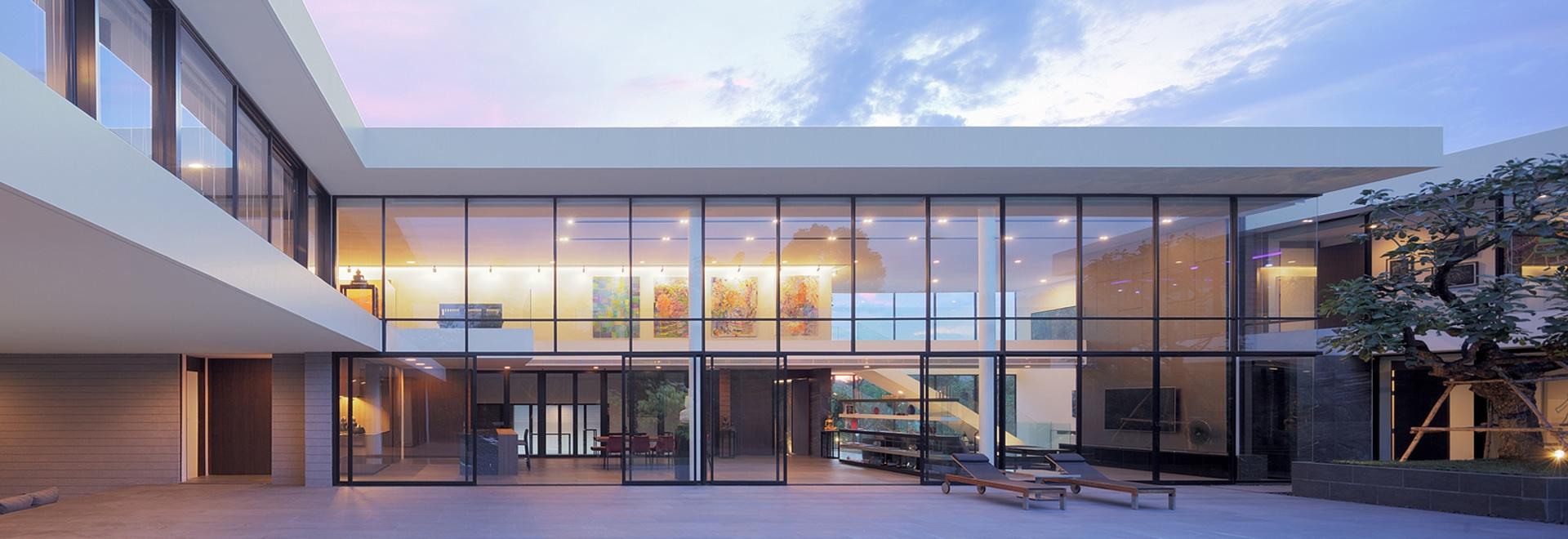 La casa horizontal/Ayutt y los socios diseñan