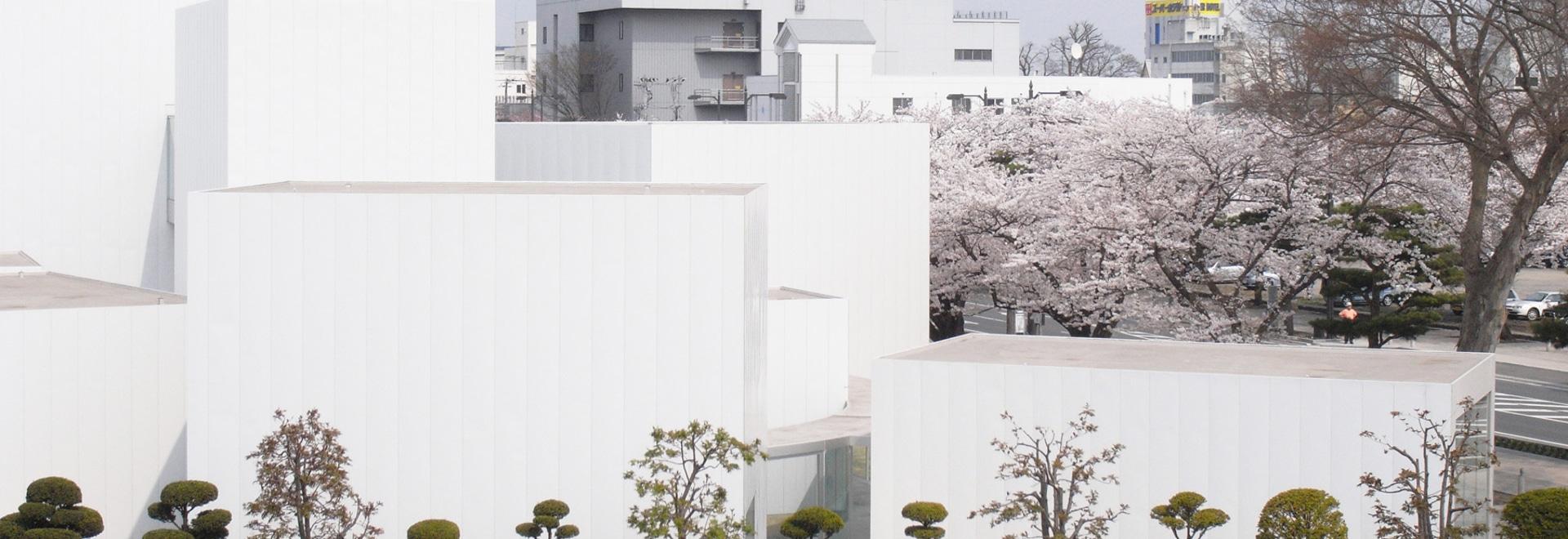 el centro del arte del towada por nishizawa del ryue está haciendo la ciudad entera un espacio del arte