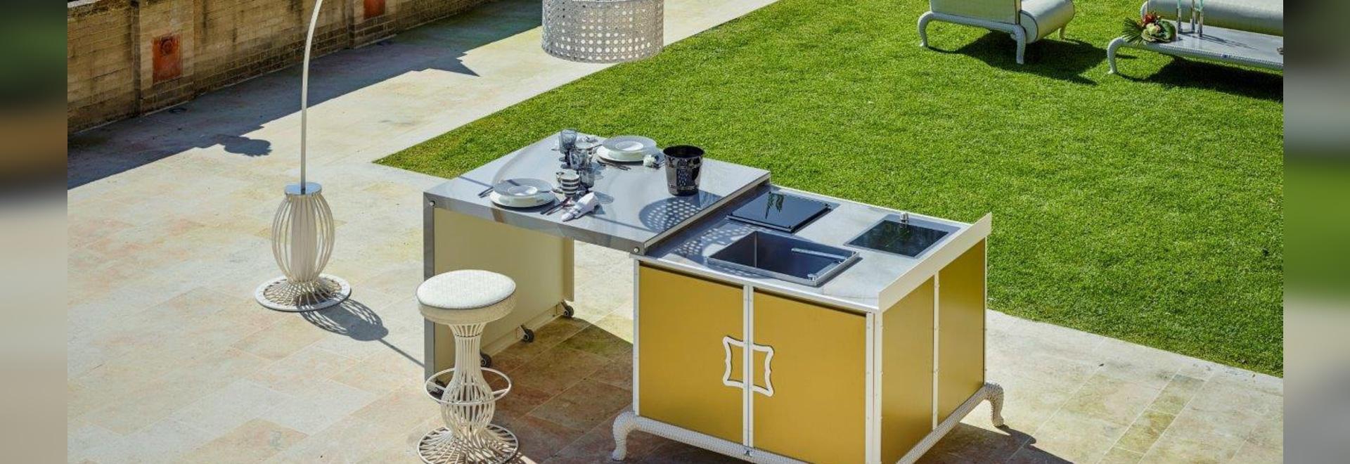 Contemporáneo Cocina Al Aire Libre Cresta - Ideas de Decoración de ...