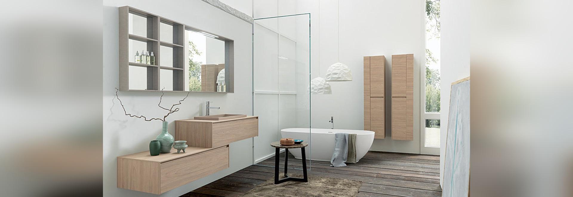 Cuarto de baño contemporáneo: Tulle