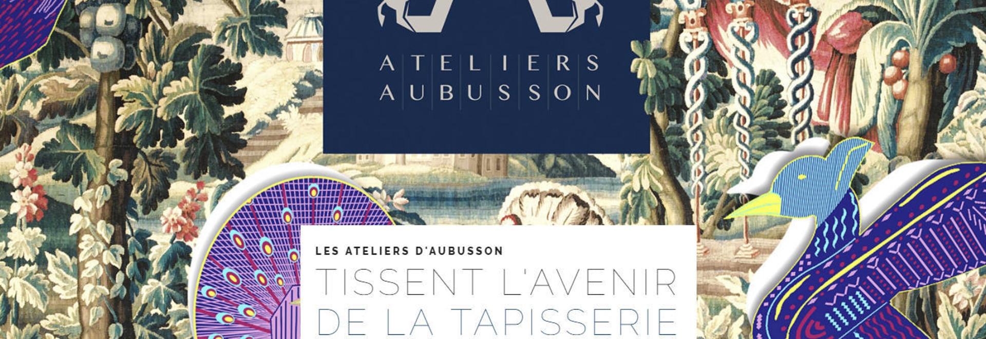 El d'Aubusson de los talleres de Les teje el futuro de la tapicería
