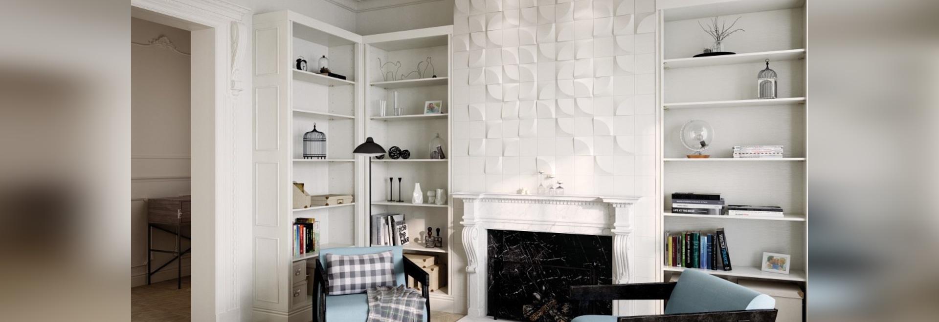 Descubra una colección hecha para los diseños sofisticados de la pared