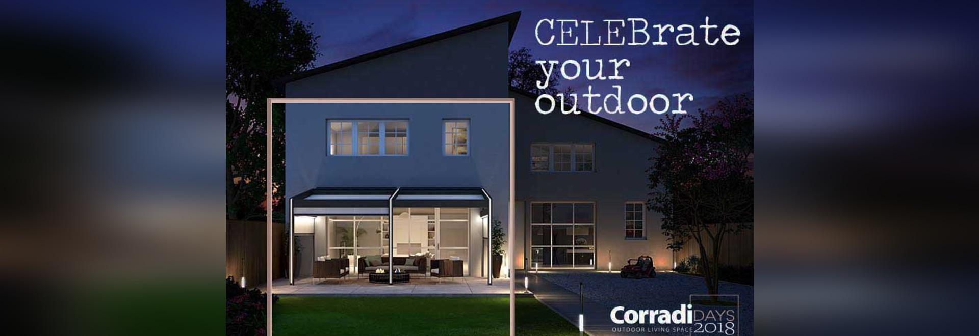 Días de Corradi para celebrar el 40.o cumpleaños de Corradi, comenzando el 26 de mayo
