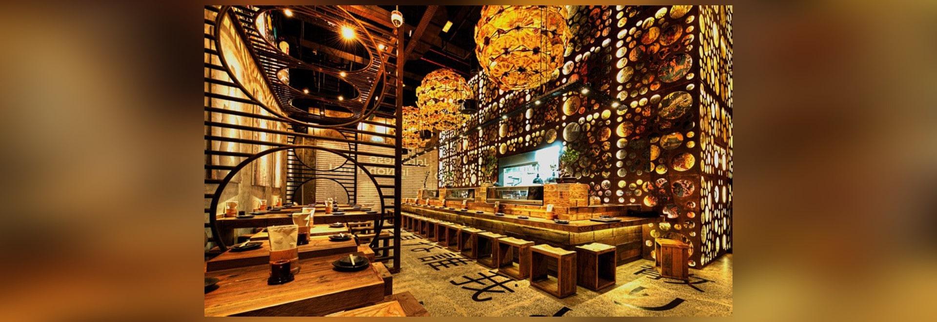 El diseño de Mojo termina el restaurante japonés de Atisuto - Dubai ...