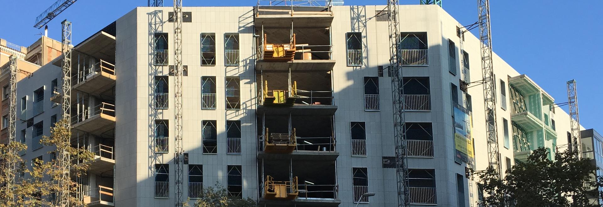 Dos proyectos de las nuevas viviendas con rainscreen fachadas
