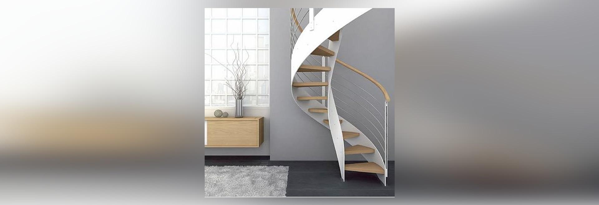 escalera espiral del diseo