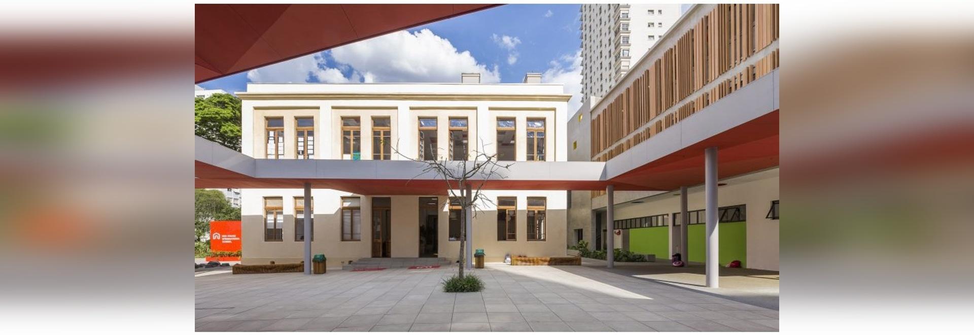 El estudio Dlux convierte el edificio histórico en São Paulo en la escuela de los niños