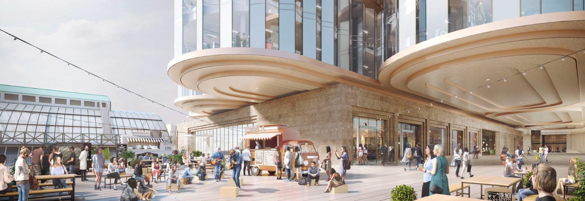 el estudio del heatherwick y SPPARC consiguen la luz verde para la revisión de Londres de la Olympia £1 mil millones