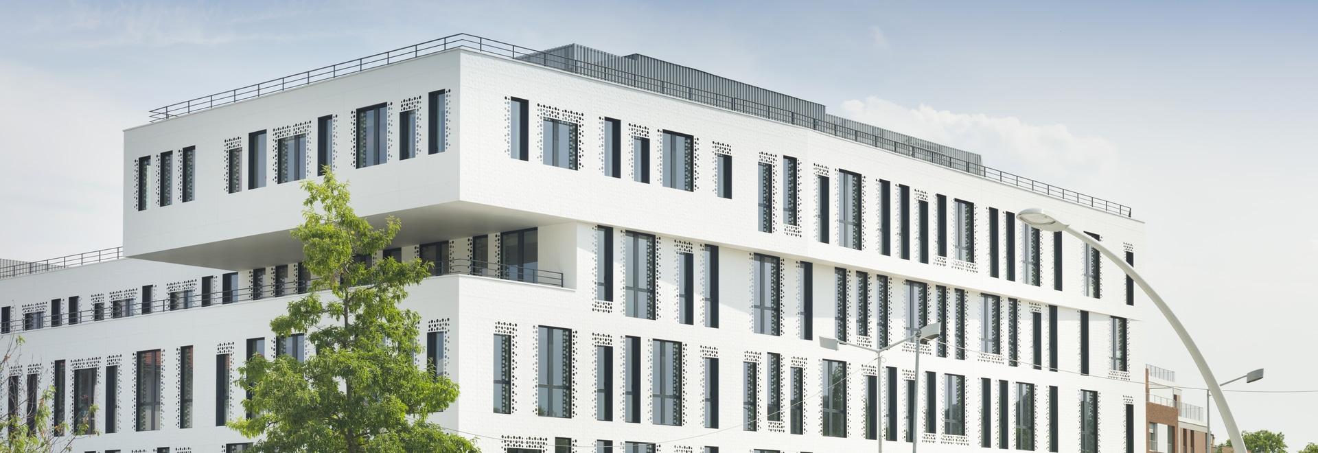 El estudio Reichen & Robert & Associes diseña con KRION la singular fachada de Docteur Pierre