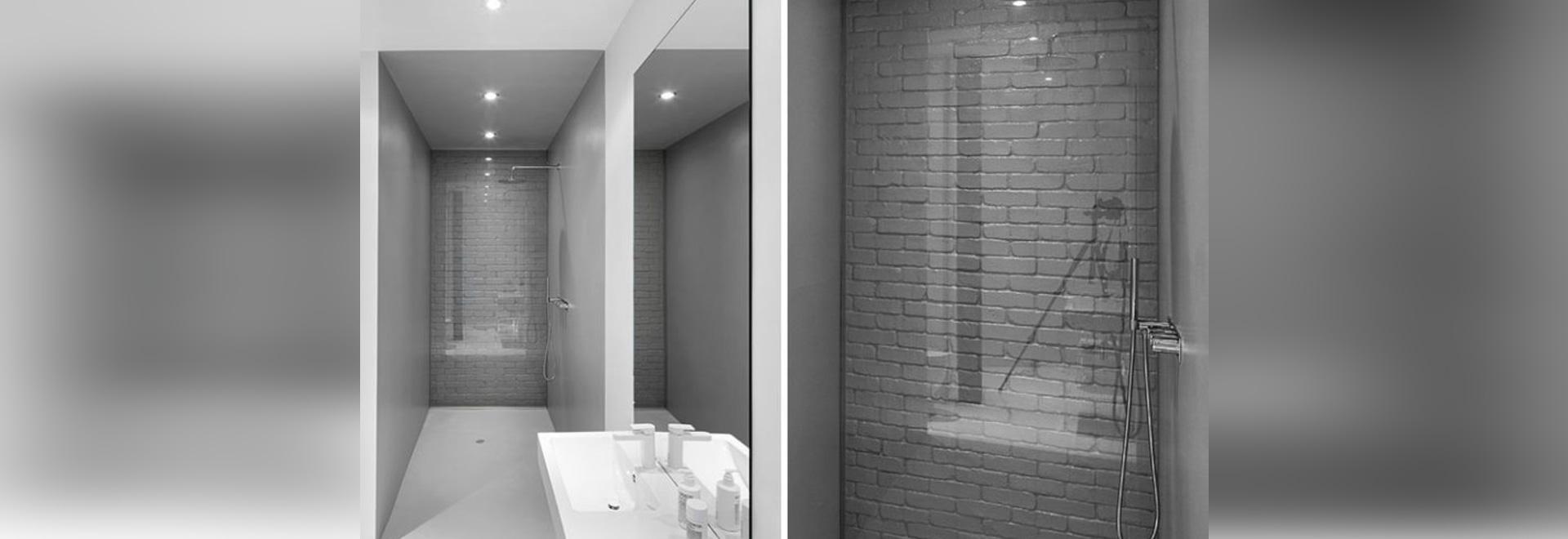 Idea del diseño del cuarto de baño – utilice de cristal para cubrir ...