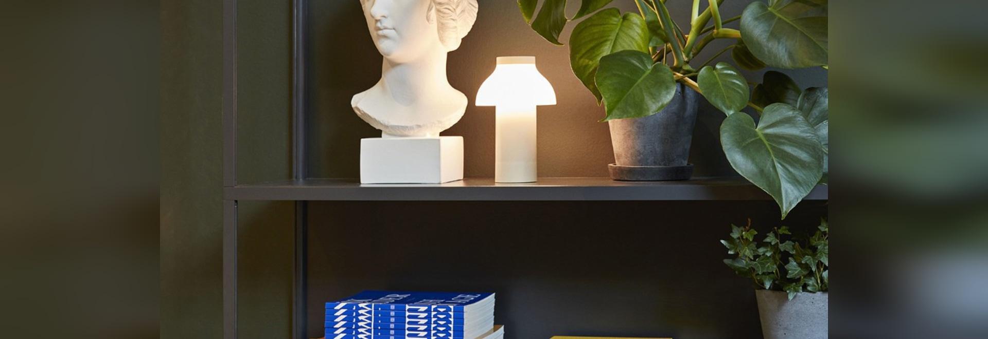 La lámpara portátil a sentir en casa dondequiera