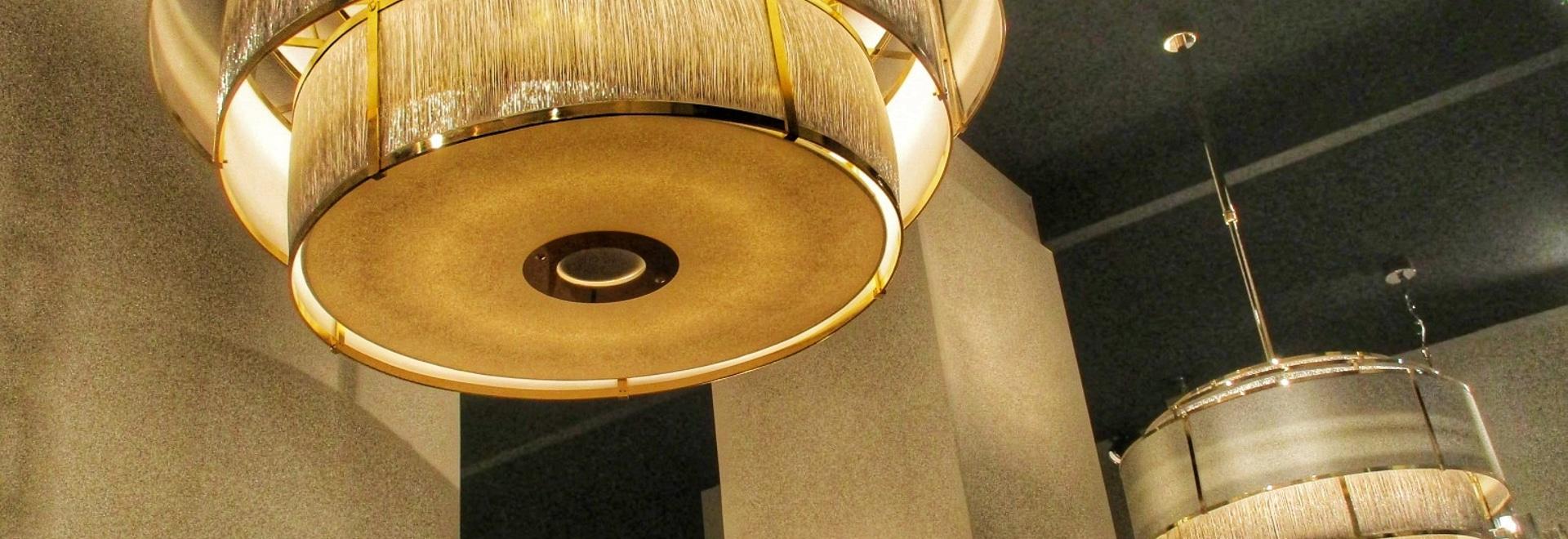 las lámparas diseñan
