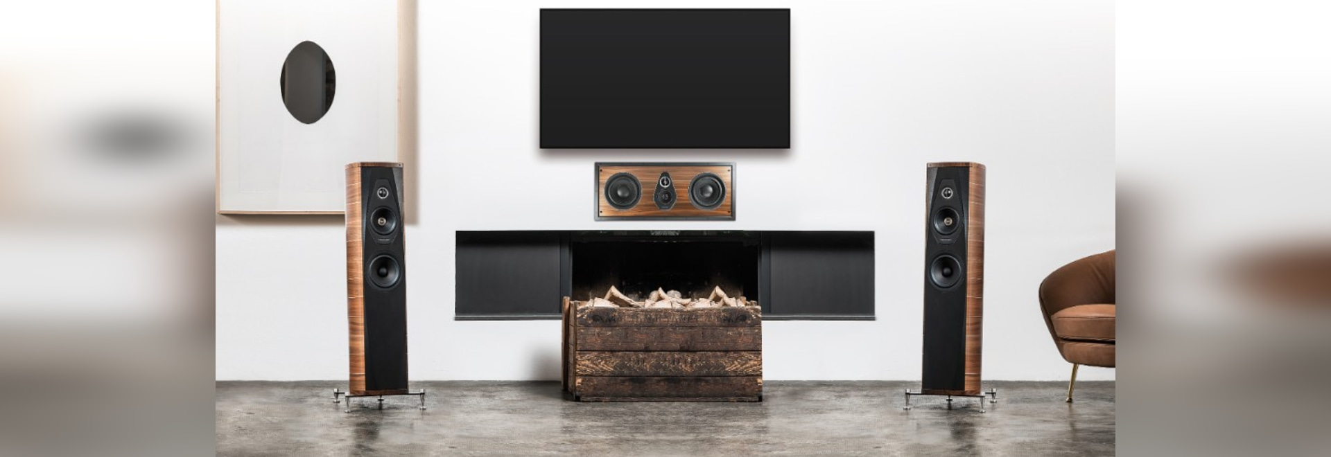 Los locutores inspirados por Andrea Palladio: audio perfecto e instalación invisible