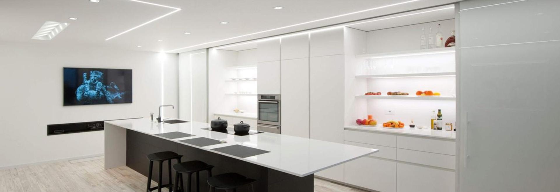 ¡Minimalismo en la cocina!