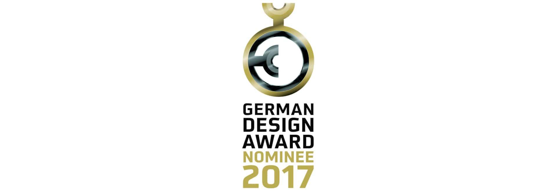 Nombrado tres veces para el premio alemán 2017 del diseño