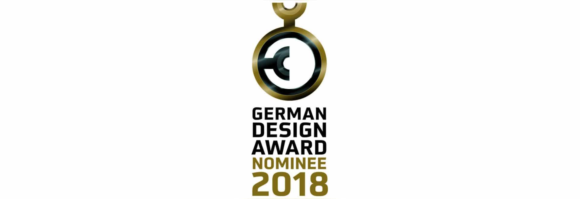 Nombramiento para el premio alemán 2018 del diseño