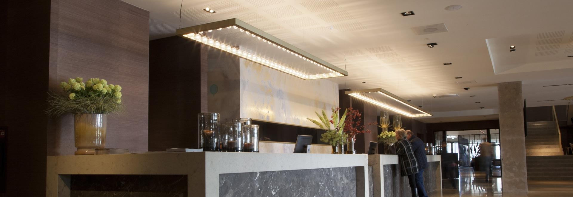 Nueva colección de JSPR capítulo y líneas de la pared en el Van der Valk Hotel Enschede