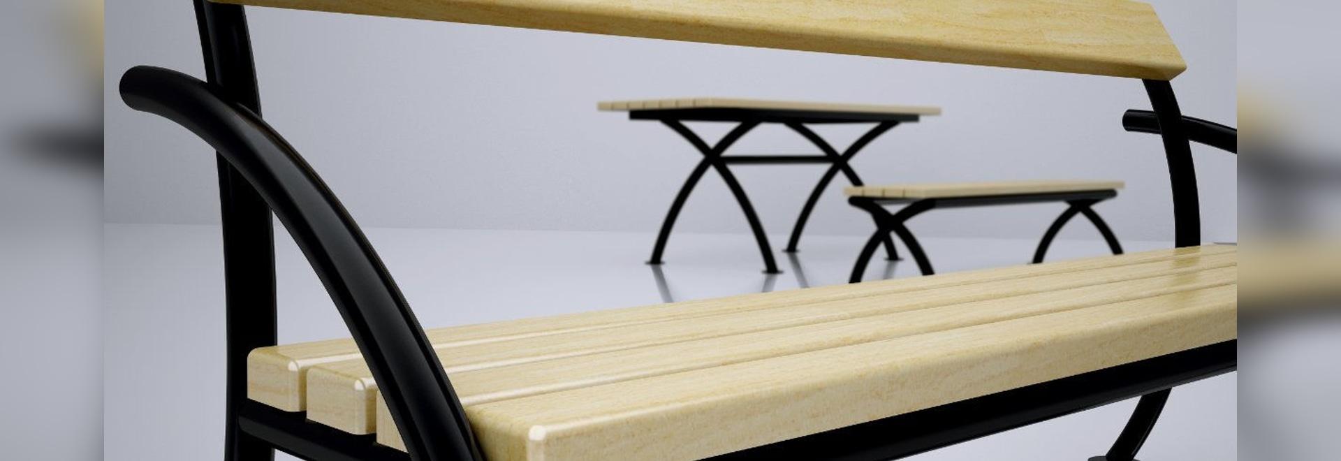 Contemporáneo Muebles Banco Público Foto - Muebles Para Ideas de ...