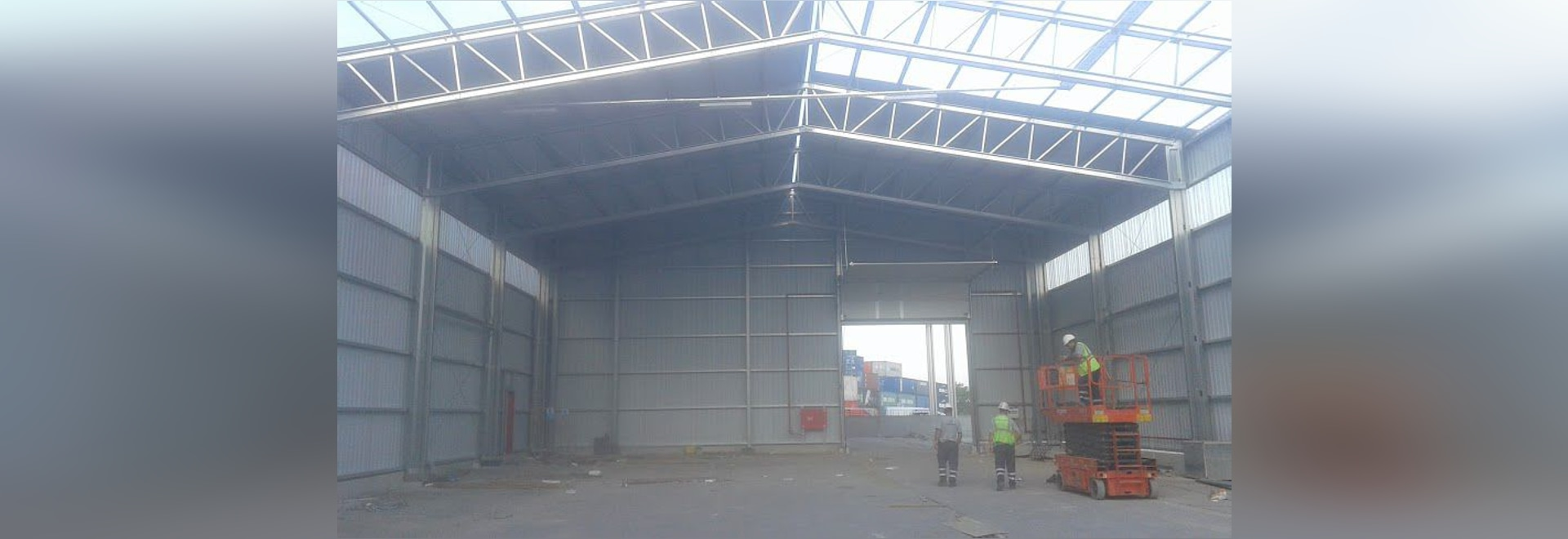 NUEVO: estructura de acero para los edificios industriales por las ...
