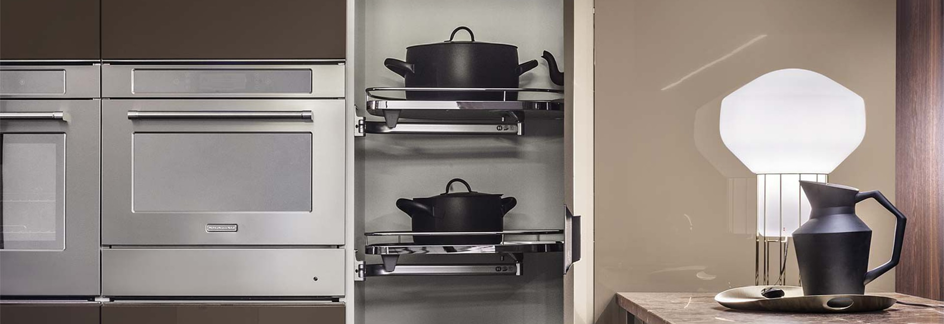 NUEVO: gabinete de almacenaje de madera para la cocina por ...