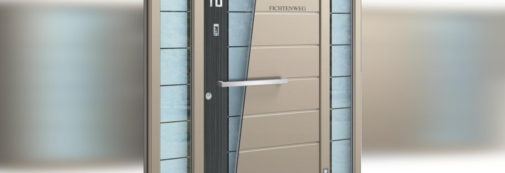 NUEVO: puerta de entrada de madera por INOTHERM - INOTHERM