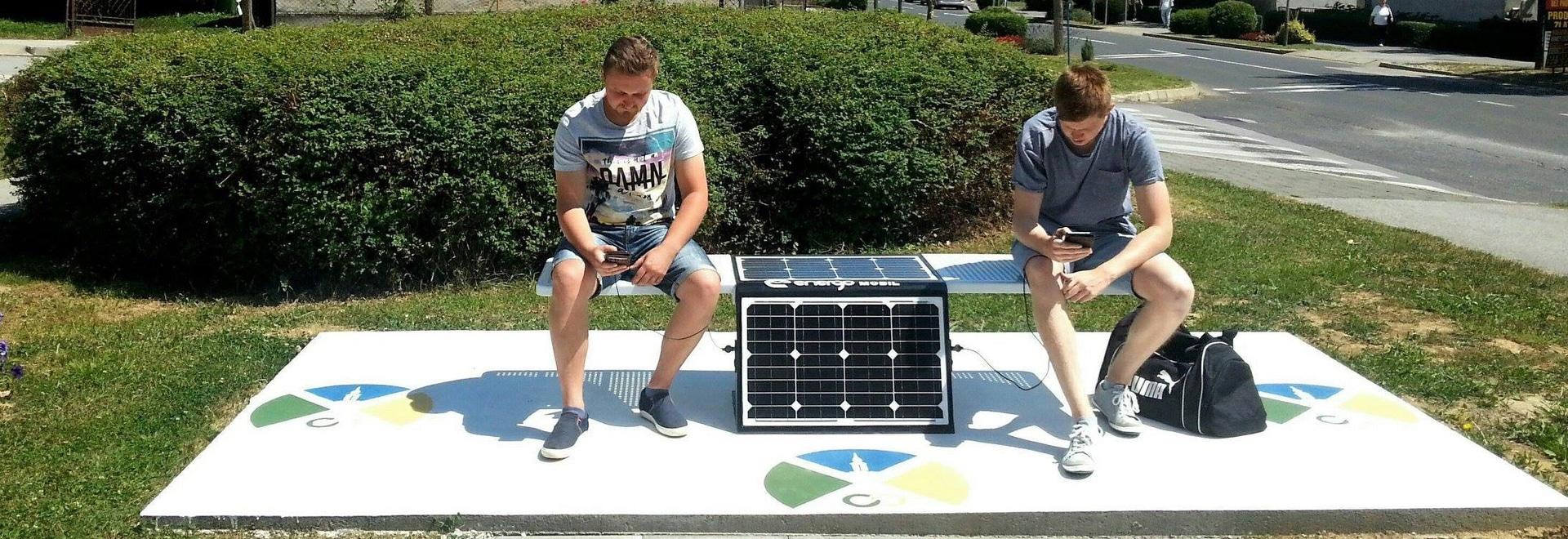 Posušje consiguió el primer banco solar