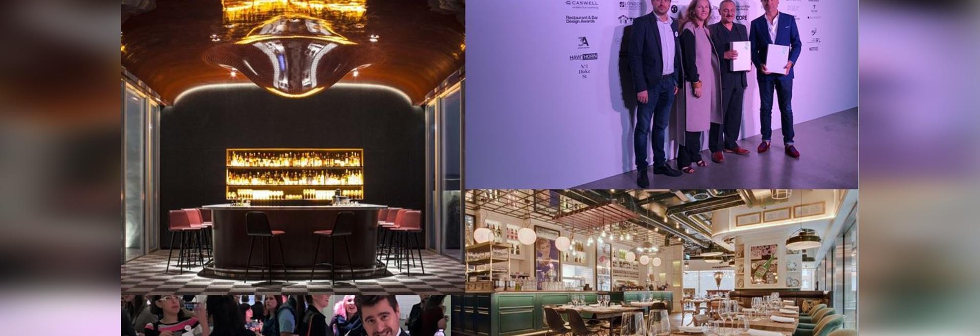 Premios del diseño del restaurante y de la barra