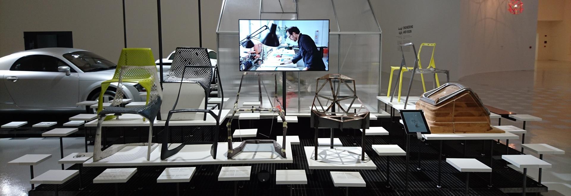 Prototipos de MYTO en conducido por la exposición alemana del diseño
